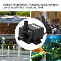 DC12V Mini Water Pump Ultra Quiet Brushless Motor Pool Submersible Pump