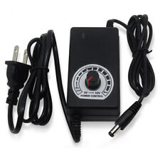 AC-DC Power Adapter 110V/220V to DC 3-12V 24W For Motor Speed Control Dimmer UDD