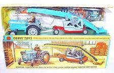 Corgi Toys 1:43 FORD 5000 SUPER MAJOR Tractor & CONVEYOR Gift Set 47 C-9 MIB`67!