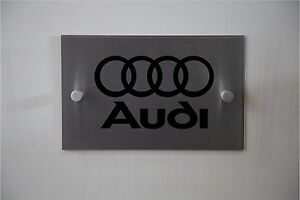 Audi Automotive Car Sign **Aluminum & Acrylic sign** Indoor or Outdoor sign