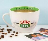 FRIENDS TV SHOW CENTRAL PERK COFFEE SHOP LARGE CAPPUCCINO CUP MUG GIFT BOX MUM