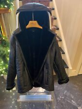 Wilson Leather fur lined coat (worn 1 time) size Medium