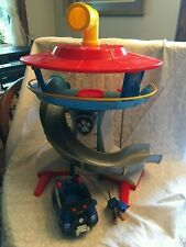 Paw Patrol Lookout play set. Has periscope that can be removed. Elevator. Button