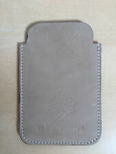 iPhone 3 Real Leather Beige Sand Sleeve Cover NEW Brand-NEGARIN