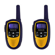 2pcs Retevis RT31 Walkie Talkie 8CH 0.5W UHF PMR446 Radio for Kids LCD Display