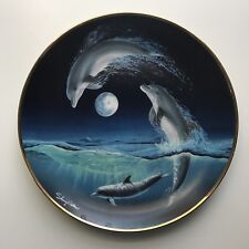 Moon Dance Sherry Vintson Limited Edition Plate Franklin Mint Heirloom RARE