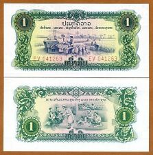 Lao / Laos, 1 Kip, ND P-19A, UNC > Pathet Government