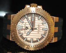 Men's Swiss Legend Challenger Swiss Rose Textured Dial Black Polyurethane Watch
