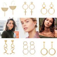 Fashion Women Pendant Long Tassel Drop Dangle Earrings Party Jewelry Gift