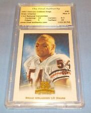 Chicago Bears Brian Urlacher 2002 Donruss Gridiron Kings Card TFA Mint 9