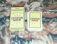 ESTONIAN Playing Cards Deck ADVERTISING CANADIAN GOLD WHISKY