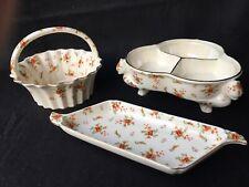 SALE Moriyama Mori-Machi Lusterware Hand Painted Japan Early Mid Century Serving