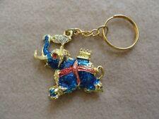 A Blue Elephant  Keychain