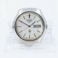 Vintage SEIKO QUARTZ QT 0823-6000 FOR PARTS OR REPAIR Watch JAPAN