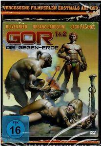 Gor Die Gegen-Erde 1&2 (DVD) Oliver Reed Film - NEU & OVP