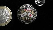 Fussball Pin Badge DFB Nationalmannschaft Japan Südkorea WM 2002 Cup