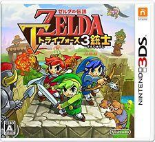 Nintendo 3DS The Legend of Zelda Tri Force Heroes Japan Japanese 4902370531138