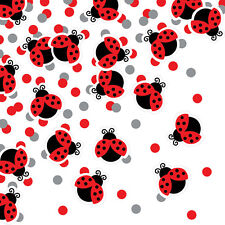 Ladybug Fancy Confetti Baby Shower Birthday Party Supplies Decorations