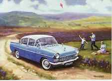 Vauxhall Cresta PA General Motors motoring art greeting card blank Kite Flying