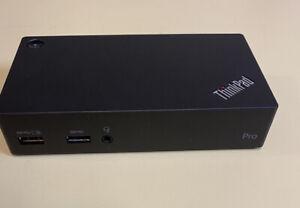 LENOVO THINKPAD  USB 3.0 Pro Dock Plug In Display