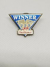 Vintage Collectible Pin Trop World Casino Atlantic City