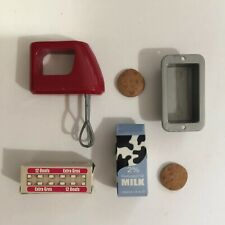 """Our Generation Doll Red Kitchen Mixer Play Food For 18"""" Doll"""