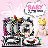 Baby Toddler Cloth Book Baby Black White Early Learning Educational Interactive