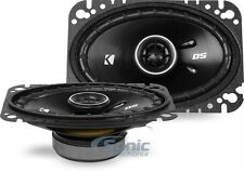 "Kicker DSC4604 60W RMS 4"" x 6"" DS Series 2-Way Coaxial Car Stereo Speakers"