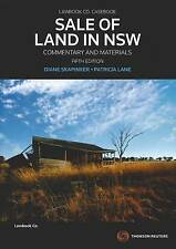 Sale of Land (NSW): Commentary and Cases by Diane Skapinker, Patricia Lane (Pape
