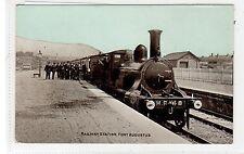 RAILWAY STATION, FORT AUGUSTUS: Inverness-shire postcard (C28318)
