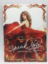 Taylor Swift SPEAK NOW World Tour 2011 Official Concert Program with Poster