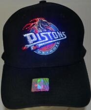 NBA Detroit Pistons Fiber Optic Hat,Cap,Adjustable,New,Led,Pistons Logo,Red+Blue