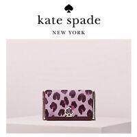 NWT Kate Spade NICOLA Haircalf Twistlock Leather Crossbody Bag/ Clutch/ Handbag