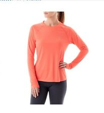 $29 Asics Women's Long Sleeve Top Running Training In Melon Size XS