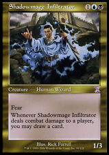 MTG SHADOWMAGE INFILTRATOR EXC INCURSORE MAGO D'OMBRA TS
