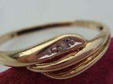 chic 333 Bague en or avec brillant RECOUVERT bijoux