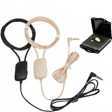 Small Invisible Gsm Neckloop Spy Earpiece Hidden Covert Micro Wireless Bluetooth