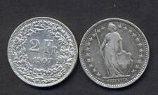 SWITZERLAND 2 Francs 1907