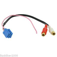 Ct29bp01 Blaupunkt AUX ausiliario in Blu Mini ISO-RCA 3,5 mm Jack Connection