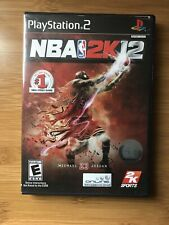 NBA 2K12 (Sony PlayStation 2, 2011) Michael Jordan Complete with Manual