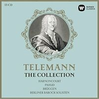 Nikolaus Harnoncourt - Telemann Edition (250th Anniversary) [CD]