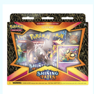 Pokémon Trading Card Game Shining Fates Dedenne Mad Party Pin Collection