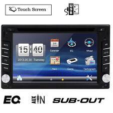 2 Din Car Stereo GPS Navigation CD DVD Player Bluetooth Car Radio+Backup Camera