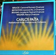 BERLIOZ - BEETHOVEN - BRAHMS - WAGNER / CARLOS PAITA Audiophile LODIA LP LOD 771