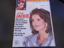 Boy George, Jackie Kennedy - People Magazine 1987