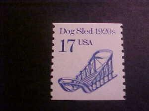 Scott # 2135 Dog Sled Unused OGNH