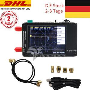 "NanoVNA Vector Network Analyzer HF VHF UHF Antenna Analyzer 2.8"" TFT Screen#DEEU"