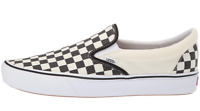 Vans Unisex UA ComfyCush Slip-On Sneakers, Checkerboard/True White