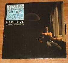"TEARS FOR FEARS - I BELIEVE ( A SOULFUL RE RECORDING) 10"" VINYL SINGLE"