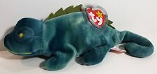 """TY Beanie Babies """"IGGY"""" the IGUANA - MWMTs! RETIRED! MUST HAVE! GREAT GIFT! MINT"""